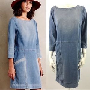 Adriano Goldschmied for Anthropologie Denim Dress